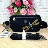 กระเป๋าสะพายข้าง และ คาดเอว Kipling รุ่น Halima convertible waist packcrossbody bag