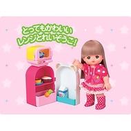 日本 小美樂娃娃配件 小美樂冰箱 冰箱組  家家酒玩具 麗嬰公司貨 正版 現貨