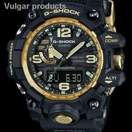 ❀﹍GSK Mudmaster GWG1000 Black Gold Red Mens Watch compass gshock gwg 1000