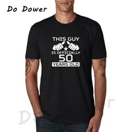 Men T Shirt 50Th Bday Gift Ideas Personalized Age Bday This Guy Is 50 Years Old