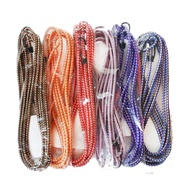 編織機車繩 10尺 圓型 機車綁帶 行李繩 彈力繩 固定繩 貨架束帶 花帶 捆貨帶 不挑色