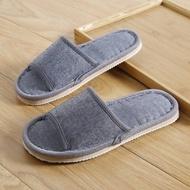 sliper 【NEW ARRIVAL】 【Ready Stock】 sandle women Selipar linen gaya baru musim panas, kain tulen, perabot rumah, hotel mewah mewah, lantai terbuka, perabot rumah, cinta dalaman, lelaki dan wanita