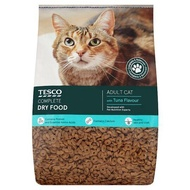 Tesco Adult Cat Complete Dry Food with Tuna Flavour 7kg