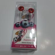 夾娃娃機 戰利品 足球造型有線耳機 可用 手機 平板