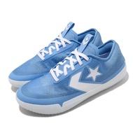 【CONVERSE】籃球鞋 Pro BB Solstice 低筒 男鞋 All Star 輕量球鞋 果凍底 限量 藍 白(167937C)