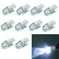 [ขาย] 10ชิ้น/เซ็ตT10สีขาว12V LED 194 168 158 5W 6500Kด้านข้างลิ่มรถยนต์ไฟแผงหน้าปัด