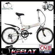 Dahon Folding Bicycle Micro Mountain Foldable Bike 20 Inch 6-speed High Carbon Steel Male And Female Double Shock Absorber Tst061