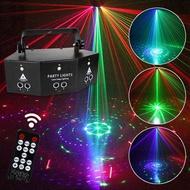 ไฟส่ายหัว ไฟเวทีส่ายหัว ไฟแฟลชบนเวที ไฟเวที ไฟแฟลช KTV flash LED light ไฟเลเซอร์ 9ดวง ไฟลำแสง 9 ลาย 3 แบบให้เลือก 10W สำหรับปาร์ตี้ ดิสโก้ คลับ ผับ KTV