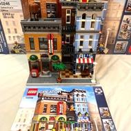 LEGO 10246 偵探社 二手 無缺件 含盒與說明書