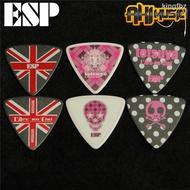 日產ESP Tetsuya L Arc-en-Ciel 彩虹樂隊限量款吉他bass貝司撥片