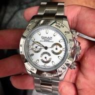 OMAX/勞力士/機械錶/三眼多功能/手錶