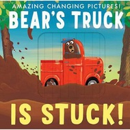 英國 Bear's Truck is Stuck! 英文繪本 童書 百葉窗操作書 Caterpillar Unicorn