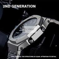 限時下殺卡西歐G-SHOCK GA-2100 二代農家橡樹改裝不銹鋼錶殼錶帶原配件 露天拍賣