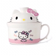 【Hello Kitty】造型泡麵碗
