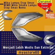 Mika Cover Cover Stop Lamp Xmax Nemo Mika Smoke Stop Lamp Accessories Variations Yamaha Xmax Nemo