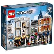 限大安區面交 限面交 全新未拆 現貨 正版 LEGO 10255 十週年 集會廣場 街景系列