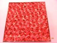 《 漢來飯店中秋月餅 立體紅色玫瑰造型盒--收納盒 》漂亮質感佳【CS超聖文化2讚】