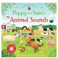 🍉小西瓜外文童書Usborne《Poppy and Sam's Animal Sounds》有聲書