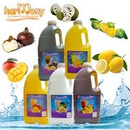 Ice Lemon Tea/Soursop/Calamansi/Mango/Water Chestnut Juice Concentrates
