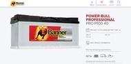 BANNER P10040 100Ah電瓶