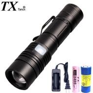 TX特林XHP-50 LED超強亮USB充電手電筒(T-F35-P50)