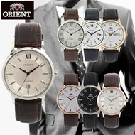 [ORIENT]  ★RESTOCK★ 100% Authentic Classic leather WATCH Collection For men and Women / best  couple