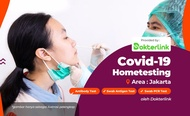 COVID-19 PCR and Antigen Home Testing by Dokterlink Jakarta