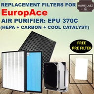 Compatible Filter For Europace Air Purifier EPU370C (Guarantee Fit and Works)