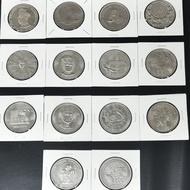 Malaysia Old 1Ringgit Coin(1set) 马来西亚旧一令吉(一套)