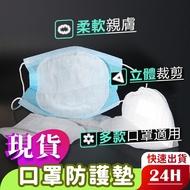 【現貨 免運費!一次性 口罩防護墊】延長使用 口罩套 口罩墊 口罩保護套 拋棄式 防護墊 拋棄式口罩 替內襯墊 口罩墊
