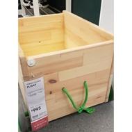 Ikea 原木拖車 玩具 二手惜福價 輪子未曾離開室內玩耍
