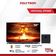 POLYTRON Cinemax Soundbar LED TV 50 Inch PLD 50B870