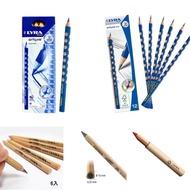 德國 LYRA GROOVE 三角洞洞鉛筆  HB 細款 粗款 兒童三角原木鉛筆 削筆器 鉛筆延長器