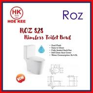 ROZ 828 1-PC Rimless Toilet Bowl