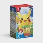 任天堂 Nintendo Switch 精靈寶可夢 Lets Go!皮卡丘+精靈球Plus 組合