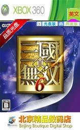 XBOX360光盤遊戲真・三國無雙6 英文版