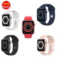 福利品_Apple Watch Series 6 GPS Sport 44mm 運動手錶_九成新