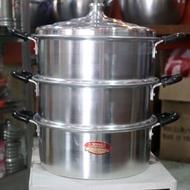 Hot spot  30cm Steamer for puto siomai siopao leche flan