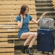 【NaSaDen 納莎登】新無憂系列TSA海關鎖29吋拉鍊行李箱(格倫藍)