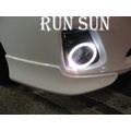 ●○RUN SUN 車燈,車材○● 全新 TOYOTA 豐田 11 12 13 COROLLA 卡羅拉 ALTIS 10.5代 光圈霧燈框
