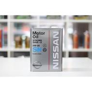 [ 樂油油 ]日本原廠 NISSAN 5W30 SN 合成機油 1L 4L