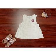 風鏡小鴨 紫芳草金絲無袖短上衣 女孩 夏天 童裝