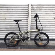 Camp Victor Z10 -- Shimano Tiagra 2 x 10 -- Hydraulic Brake -- Folding Bike -- Basikal Lipat