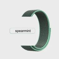 ใหม่ไนลอนกีฬา Loop Band Spearmint 38mm42สร้อยข้อมือ Foriwatch สายคล้อง Series6 5 4 3สายรัดข้อมือ40mm44for Apple Watch Band 4 5สายคล้อง