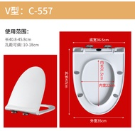 ☯≕General KOHLER KOHLER toilet cover household toilet plate ring old-fashioned accessories pumping t