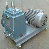 日本大亞真空幫浦CRP-200+1HP單相馬達-真空含浸、翻模、真空脫泡機可用