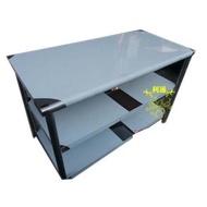 《利通餐飲設備》工作台2尺×4尺×80 3層(60×120×80) 不銹鋼工作台料理台.切菜台.工作桌.平台
