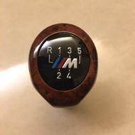 BMW 通用型木紋M標五速 排檔頭 手排 排檔頭 E30 E34 E36 E39 E46 E92 E87