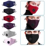 LYHOME✨現貨 防塵呼吸閥pm2.5口罩 多層防護口罩 防塵 活性碳 透氣騎行口罩面罩 口罩 防塵口罩