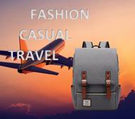 กระเป๋าคอมพิวเตอร์เดินทางแฟชั่นผู้ชาย กระเป๋าเป้เด็กหญิง กระเป๋าเป้โรงเรียนมหาวิทยาลัย ความจุขนาดใหญ่ 14 นิ้ว14inch Large Backpack School Bag Travel Bag